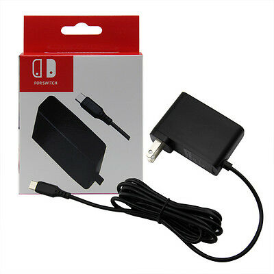 AC Adapter Power Supply Wall Travel Charger For Nintendo Switch 110V-245V 2.4A