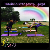 Private Yoga Classes-birthday parties, bachelorette parties, etc