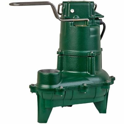 Zoeller N264 - 410 Hp Cast Iron Sewage Pump 2 Non-automatic