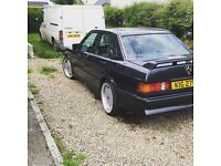 Mercedes 190E Cosworth Kitted Real Mint Car w201