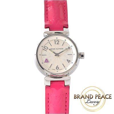 Louis Vuitton Tambour ladies pink Safiya Hart SS / leather belt Q1218: