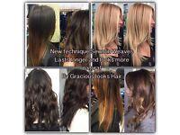 Hair EXTENSIONS Sewn inn!!!!