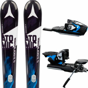 Négociable: Skis Atomic Nomad Blackeye Ti avec AttachesXTO 12