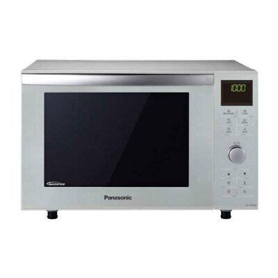 Panasonic NN-DF 385 M Mikrowelle Edelstahl Inverter Mikrowelle Quarzgrill 1000W