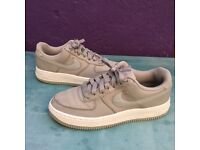 Nike Air Force 1 grey trainers uk size 4