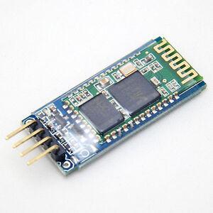 4 Pins HC-06 RS232 Wireless Serial Bluetooth RF Transceiver Module für Arduino