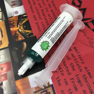 Pcb Uv Curable Solder Mask Repairing Paint Green Colour 10cc