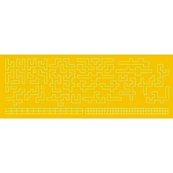 HIQ Parts Dot Matrix Camo / Aztec Masking Large 1/100 - 1/60 DCMTL