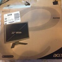 Acer X223W 22-inch LCD Monitor