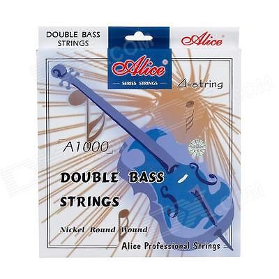 SET MUTA DI CORDE COMPLETA PER CONTRABBASSO ALICE A1000 - DOUBLE BASS STRINGS
