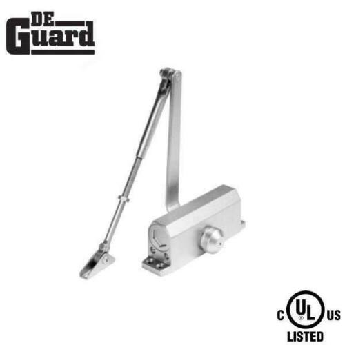 Hydraulic Door Closer / w/ P.A Bracket / Grade 1 - Satin Nickel - Size 3