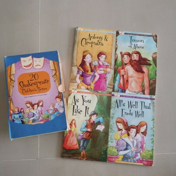 Shakespares children story books