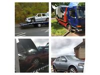 SCRAP AND NON RUNNERS WANTED CARS VANS 4x4