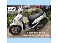 Honda nxc50 moped very clean 2013 plus other 50cc scooters