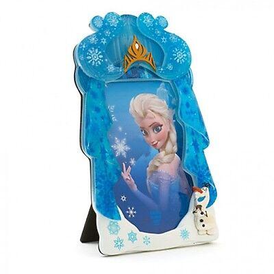 Frozen Elsa and Olaf Photo Frame, Disneyland Paris Original    N:1898