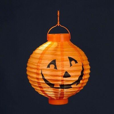 LED Halloween Lampion Kürbis Batteriebetrieb innen - Led-halloween