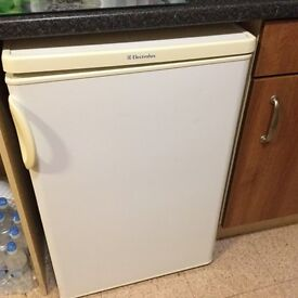 Electrolux under counter fridge.