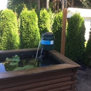 Tetra pond filter and pump clear choice 2