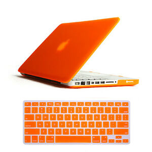 Laptop Rubber Hard Cover Case+Keyboard Skin For Mac Book Pro 13. 3