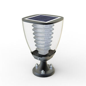 Lampada da giardino a led con pannello fotovoltaico ad energia solare lampione ebay - Lampada ad energia solare da esterno ...