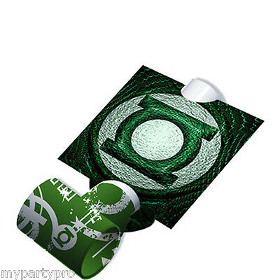 Green Lantern Justice League Super Heros Blowout Favor Birthday Party Supplies](Green Lantern Party Supplies)