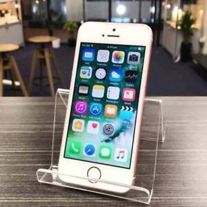 AS NEW IPHONE SE 64GB ROSE GOLD UNLOCKED WARRANTY INVOICE