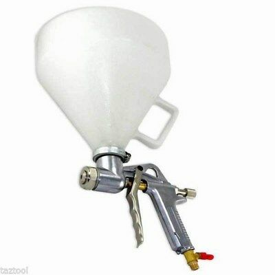 Air Texture Hopper Gun Drywall Ceiling Acoustic Tools