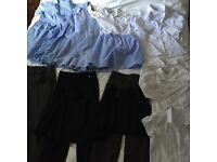GIRLS SCHOOL CLOTHES BUNDLE 8-9y