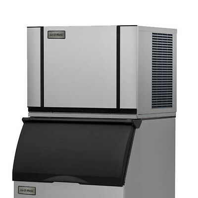 Ice-o-matic Elevation Series 520lb Halfcube Air Cooled Ice Machine Bin