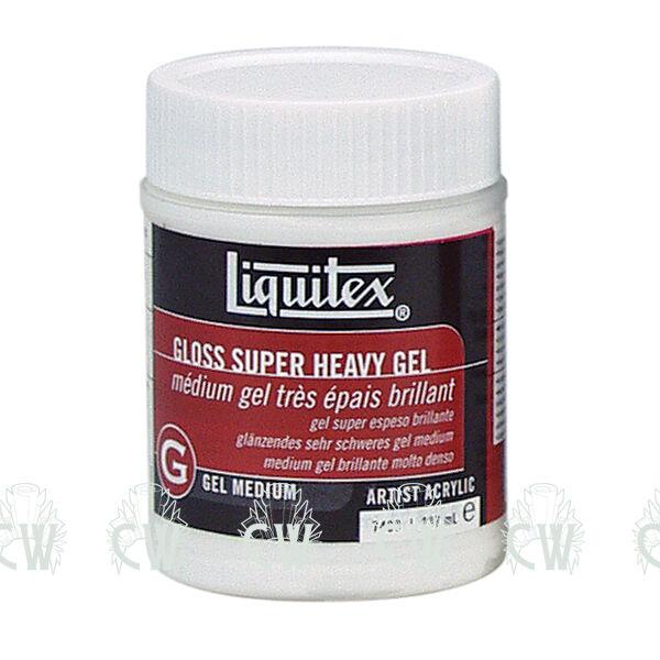 Liquitex Gloss Super Heavy Gel 473ml. Artists Acrylic Paint Medium. Impasto.