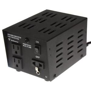 VOLTAGE CONVERTER /VOLTAGE TRANSFORMER 220V-110V / 110 V - 220 V STEP UP STEP DOWN 500 WATT FOR $39.99