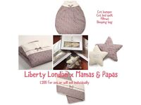 Liberty London x Mamas & Papas collection Nursery Set