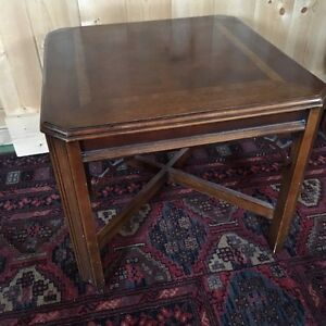 Matching hardwood End Tables