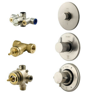 Pfister Thermostatic Brushed Nickel Custom Shower & Tub Fixture