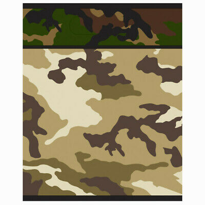 ry Party Loot Bags Boys Birthday Supplies Goody Treat Empty (Camo Party Supplies)