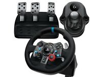 Logitech G29 Steering Wheel + Shifter (Unopened)