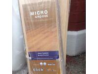4.5+ mtrs sq of laminate flooring