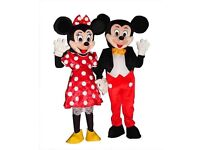 Mickey and Minnie Costume hire ONLY