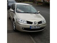 Renault megane in excellent condition full mot