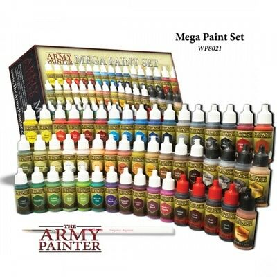 TAPWP8021 Army Painter Warpaints: Mega Paint Set Quick Free Shipping