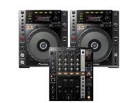 Pair of Pioneer CDJ 850k & DJM 750k