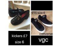Kickers and converse