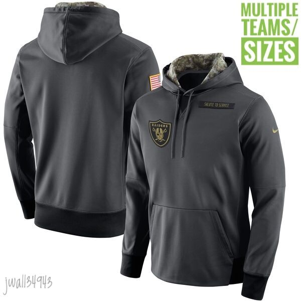 Salute to Service Nike NFL 2016 Mens Salute to Service Hoodie Multiple Teams New