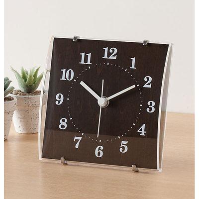 "From Japan Nitori 2 Way Clock Arco Dark brown ""Code: 8171289"" / Tracking SAL"