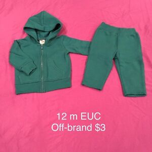 12 month clothing, lots of long sleeves London Ontario image 4