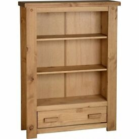 New Solid Block Bookcase SALE £89 in stock now