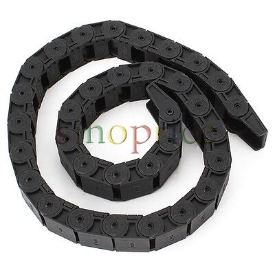 Cable Drag Chain Wire Carrier 18x25mm R48 1m 100cm 40 Length