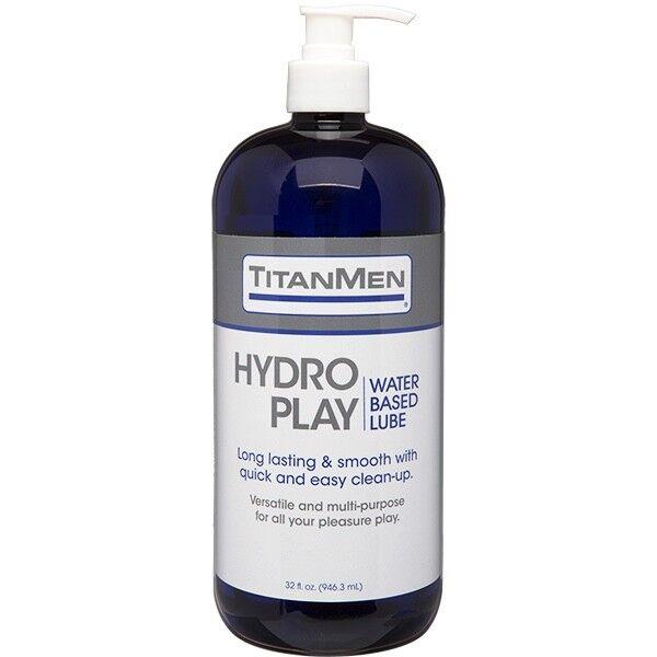Titanmen Hydro Spiele Wasserbasis Gleitmittel 946ml Nicht Klebrig