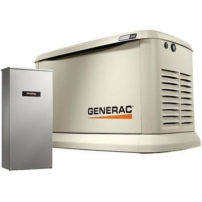 Generac Guardian 22kw Standby Generator System 200a Service Disconnect Ac ...