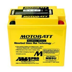 Motobatt Battery For Yamaha YFM80 Badger / Grizzly / Moto-4 / Raptor ATV